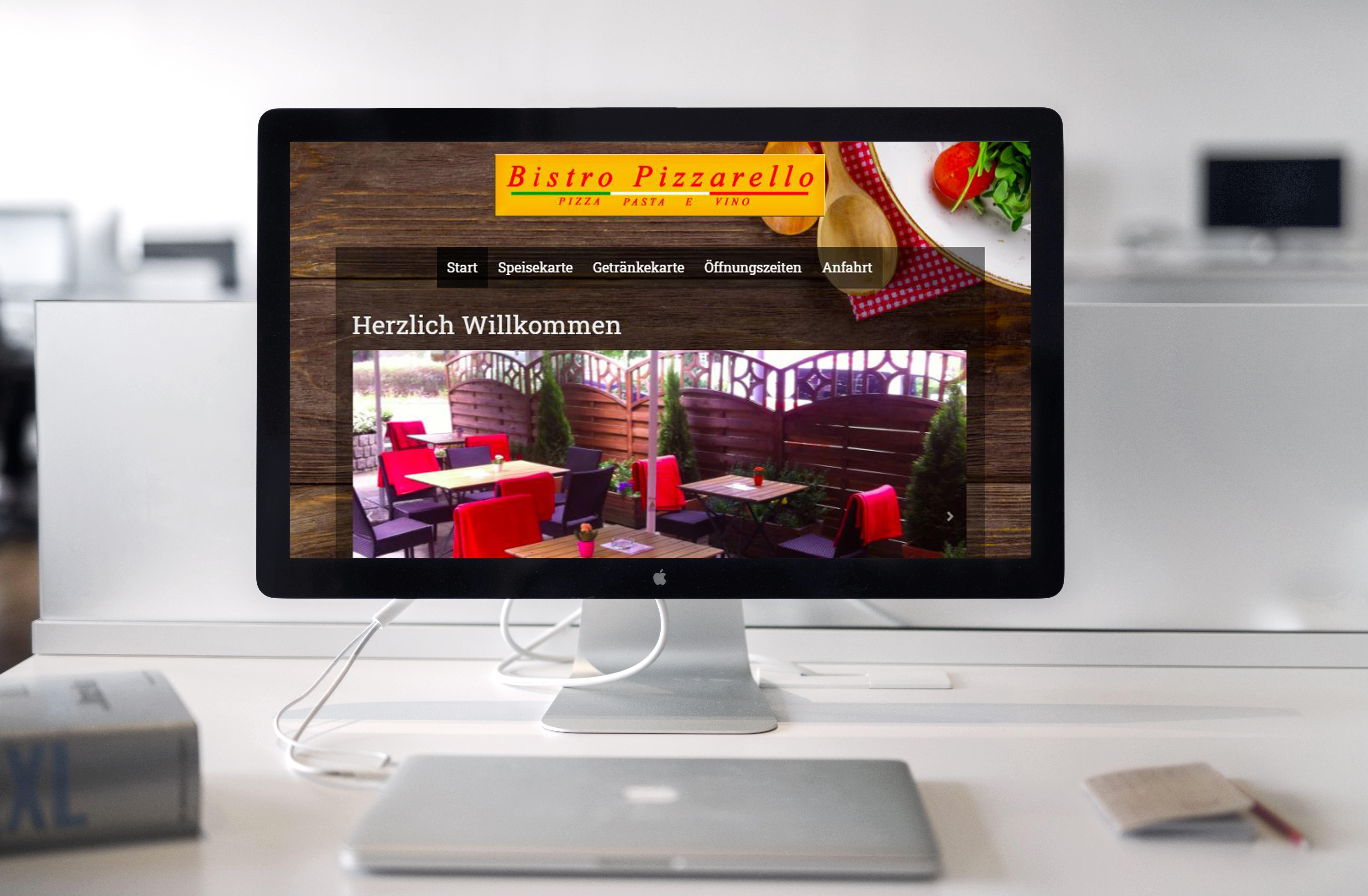 Apple Webdesign Bistro Pizzarello