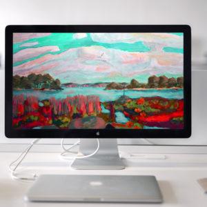 Produktbild Landschaftsbild Wallpaper