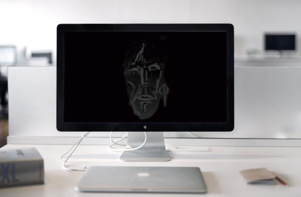 Man of Time Wallpaper auf MAC Apple PC